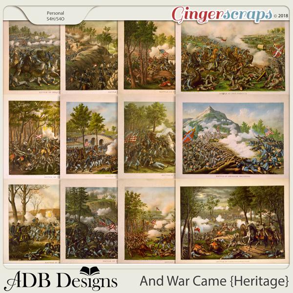 And War Came Heritage Civil War Battles