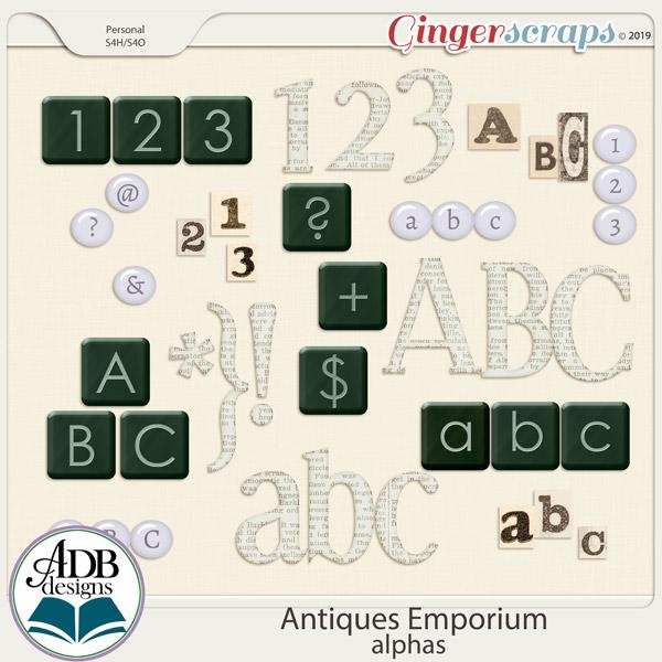 Antiques Emporium Alphas by ADB Designs