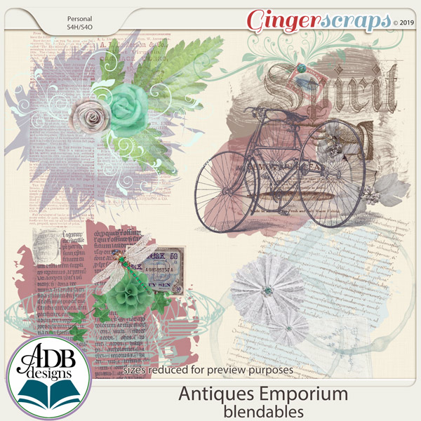 Antiques Emporium Blendables by ADB Designs
