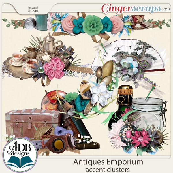 Antiques Emporium Clusters by ADB Designs
