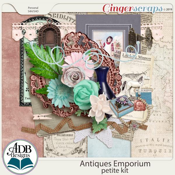 Antiques Emporium Mini Kit by ADB Designs