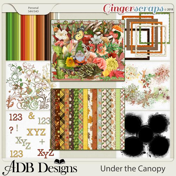 Under The Canopy Bundle by ADB Designs