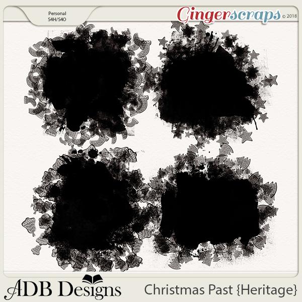 Christmas Past Masks by ADB Designs