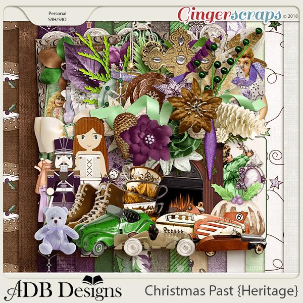 Christmas Past Mega Kit by ADB Designs