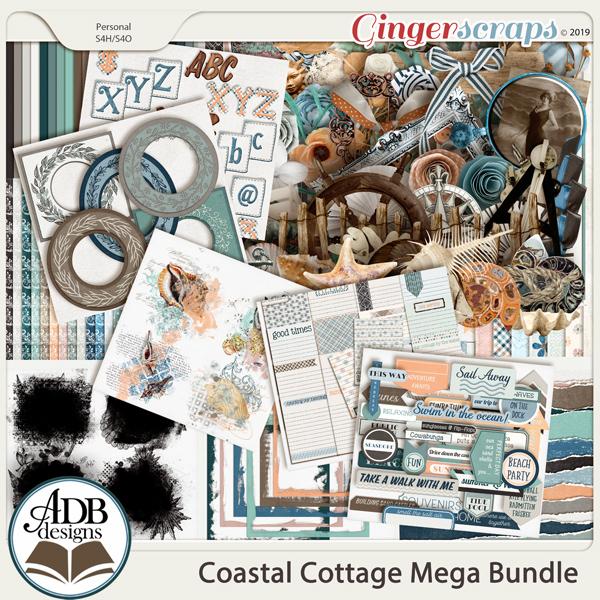 Coastal Cottage Bundle by ADB Designs