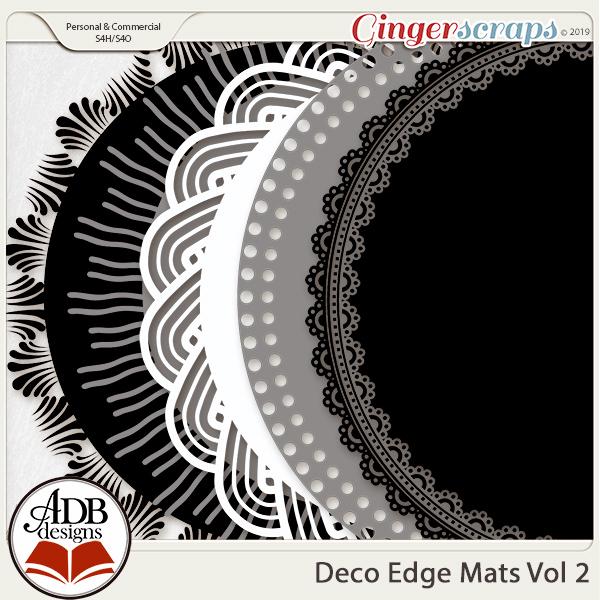 Deco Mats Vol 02 by ADB Designs