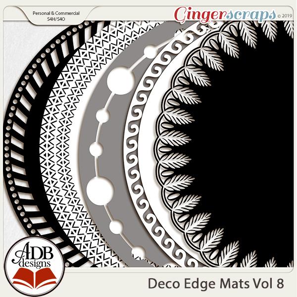 Deco Mats Vol 08 by ADB Designs
