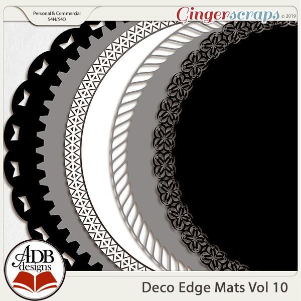 Deco Mats Vol 10 by ADB Designs
