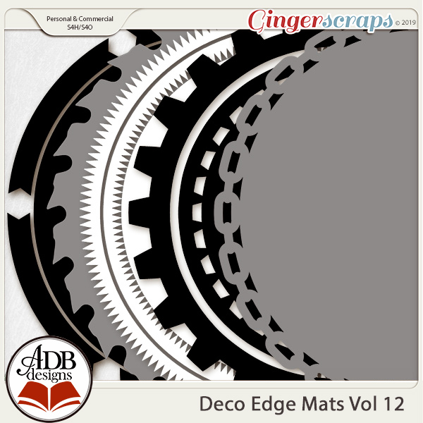 Deco Mats Vol 12 by ADB Designs