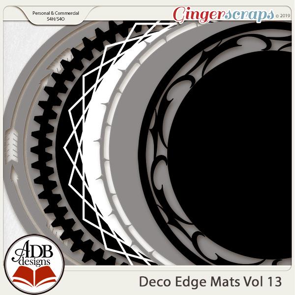 Deco Mats Vol 13 by ADB Designs