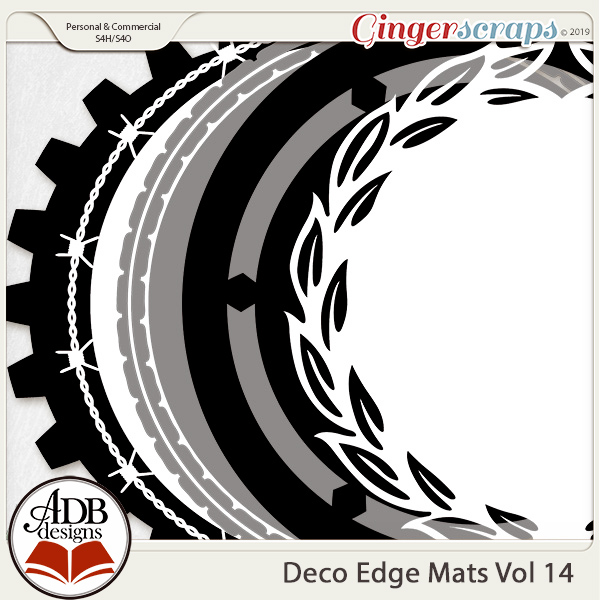 Deco Mats Vol 14 by ADB Designs