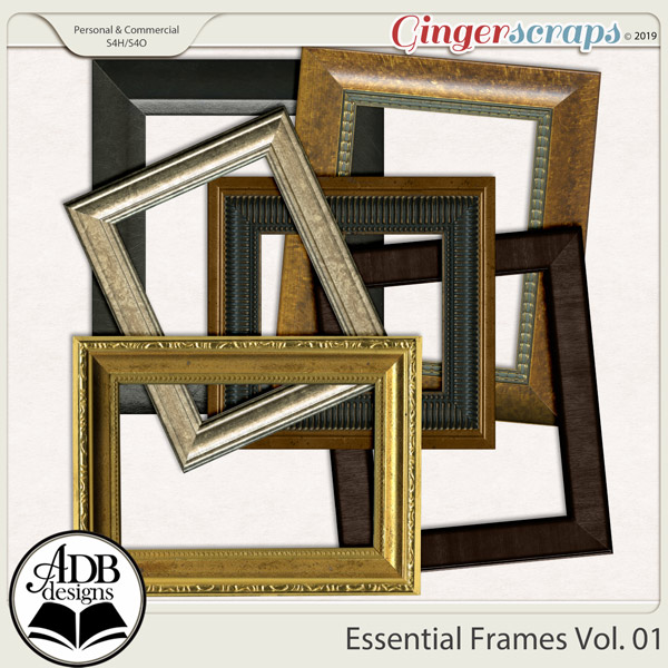 Essential Frames Vol 01 by ADB Designs