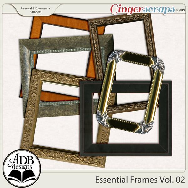 Essential Frames Vol 02 by ADB Designs