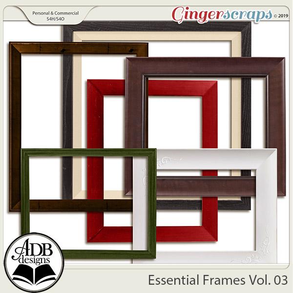 Essential Frames Vol 03 by ADB Designs