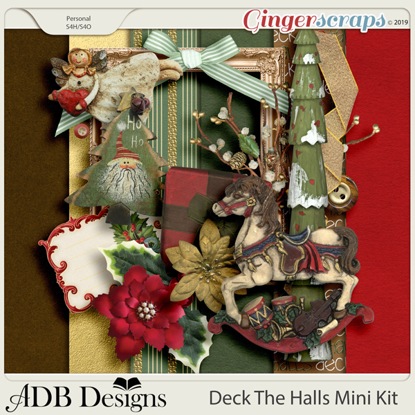 Deck The Halls Mini Kit by ADB Designs