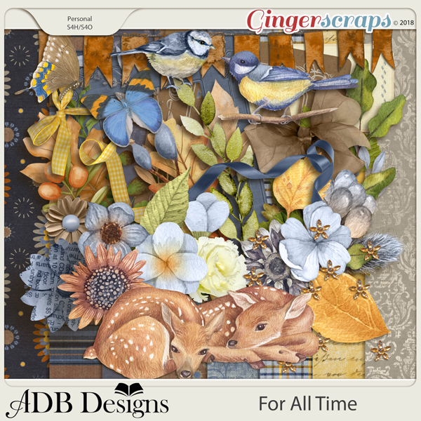 For All Time Page Kit by ADB Designs