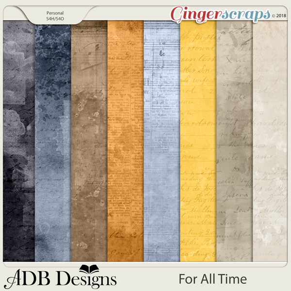 For All Time Shabby Vintage Solids by ADB Designs
