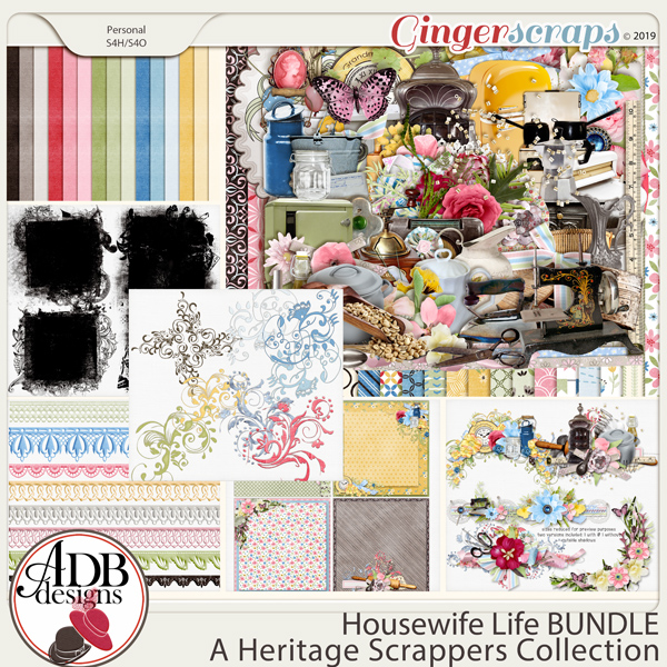 Housewife Life Bundle by ADB Designs