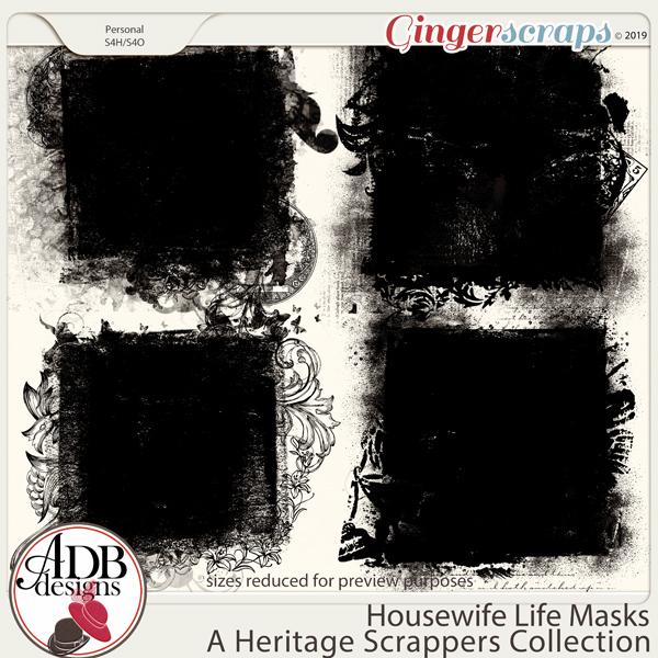 Housewife Life Masks by ADB Designs