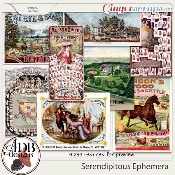 Heritage Resource - Serendipitous Ephemera by ADB Designs
