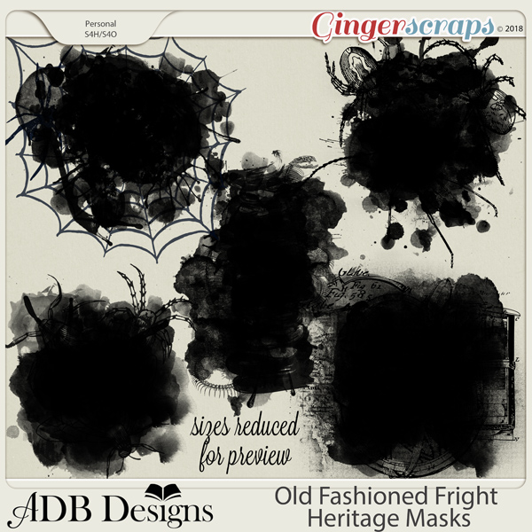 Old Fashioned Fright Heritage Masks by ADB Designs