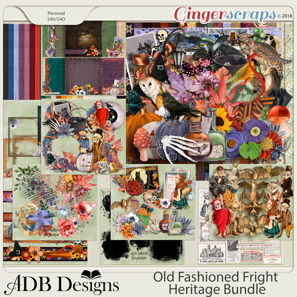 Old Fashioned Fright Heritage Bundle by ADB Designs