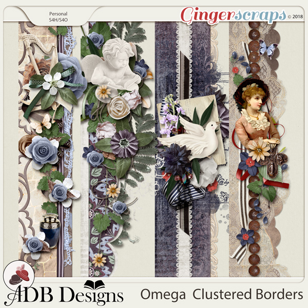 Omega Cluster Borders by ADB Designs
