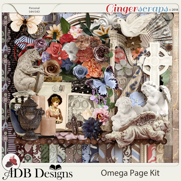 Omega Page Kit by ADB Designs