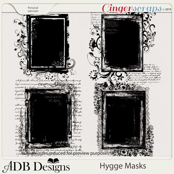 Hygge Masks by ADB Designs