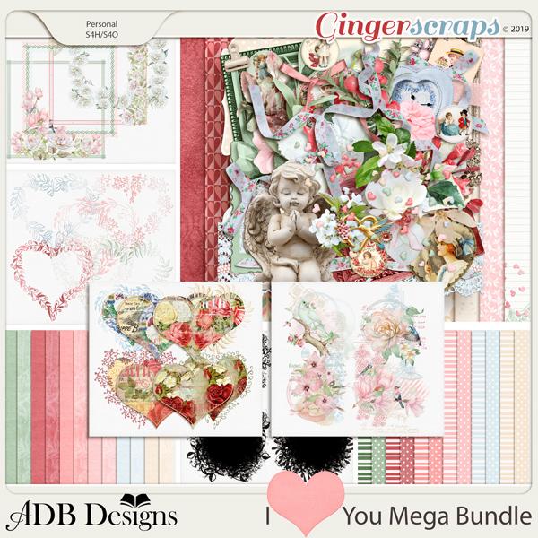 I Heart You Bundle by ADB Designs