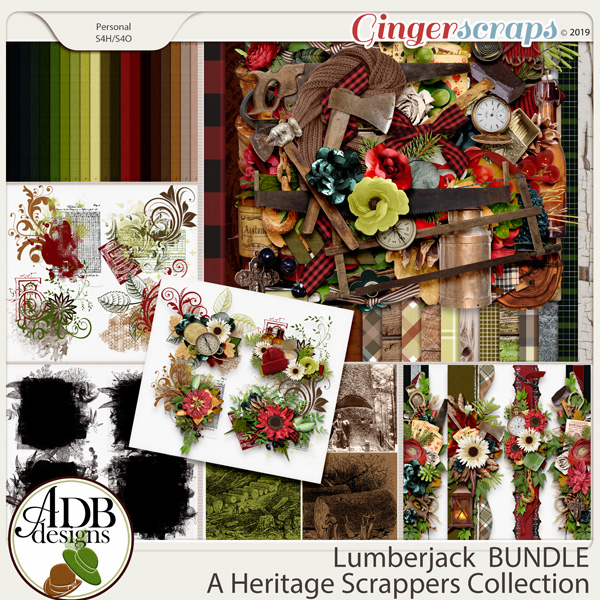 Lumberjack Bundle by ADB Designs