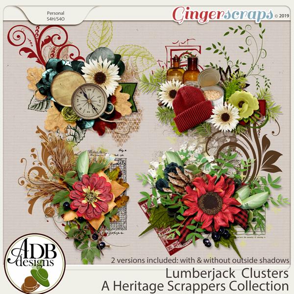 Lumberjack Clusters by ADB Designs
