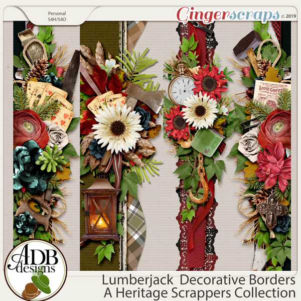Lumberjack Borders by ADB Designs