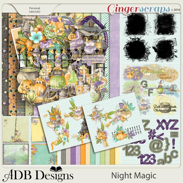 Night Magic Bundle by ADB Designs