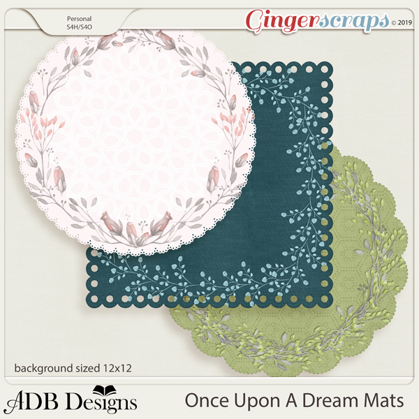 Once Upon A Dream Mats by ADB Designs