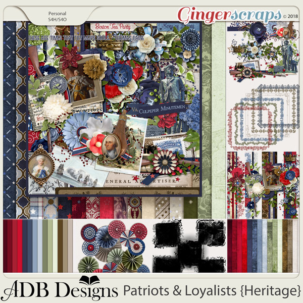 Patriots And Loyalists Bundle by ADB Designs