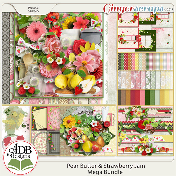 Pear Butter & Strawberry Jam Bundle by ADB Designs