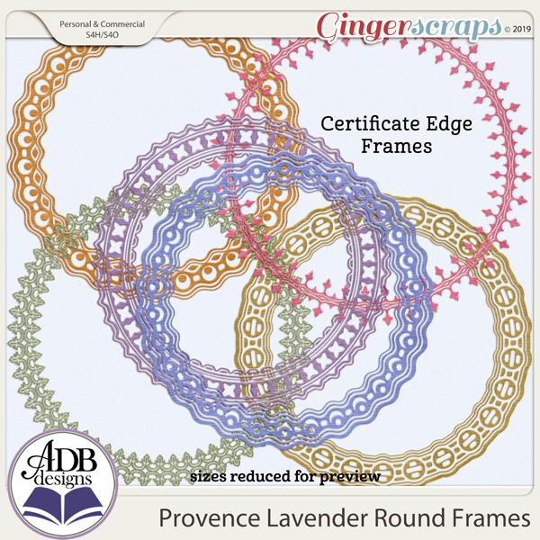 Provence Lavender Frames by ADB Designs