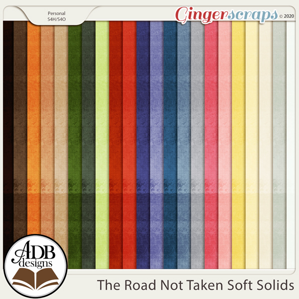 The Road Not Taken Cardstock Solids by ADB Designs