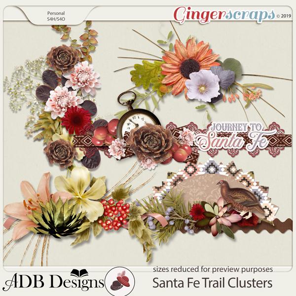 Santa Fe Trail Clusters by ADB Designs