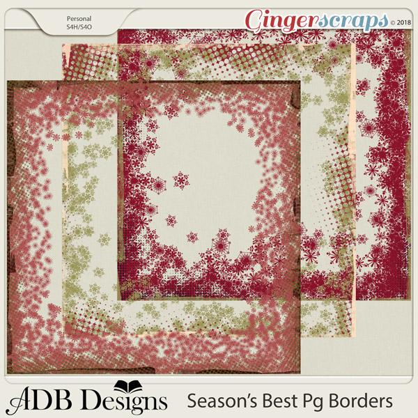 Season's Best Borders by ADB Designs