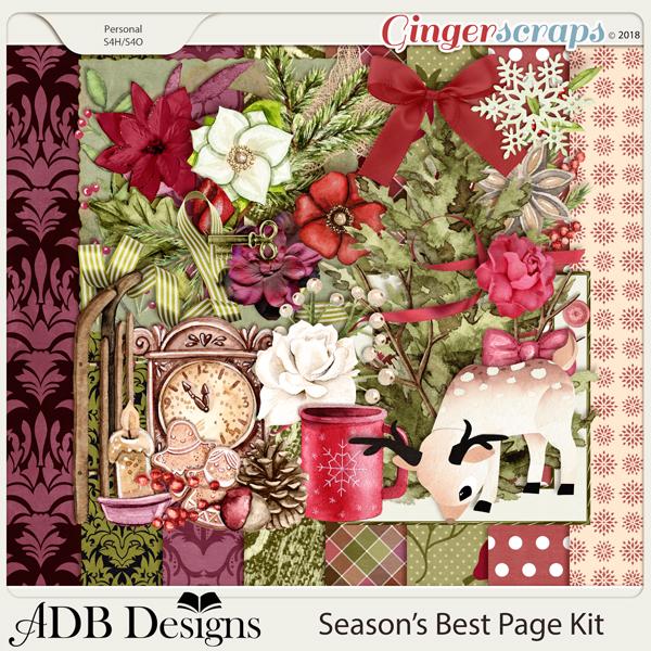 Season's Best Page Kit by ADB Designs