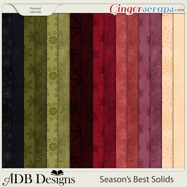Season's Best Cardstock Solids by ADB Designs