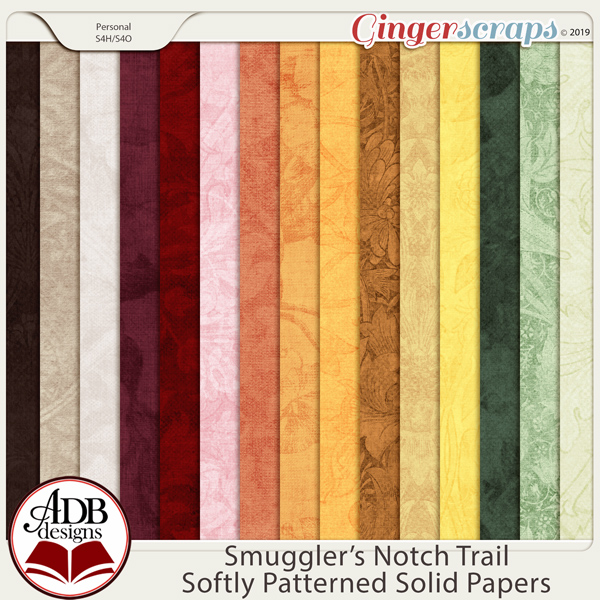 Smugglers Notch Trail Vintage Solids by ADB Designs