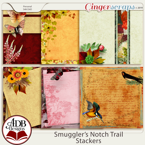 Smugglers Notch Trail Stacked Papers by ADB Designs