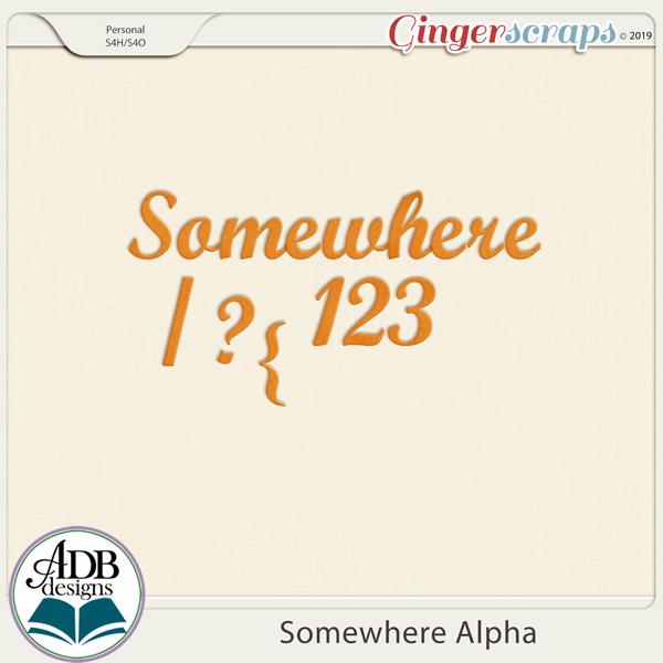 Somewhere Alphas by ADB Designs