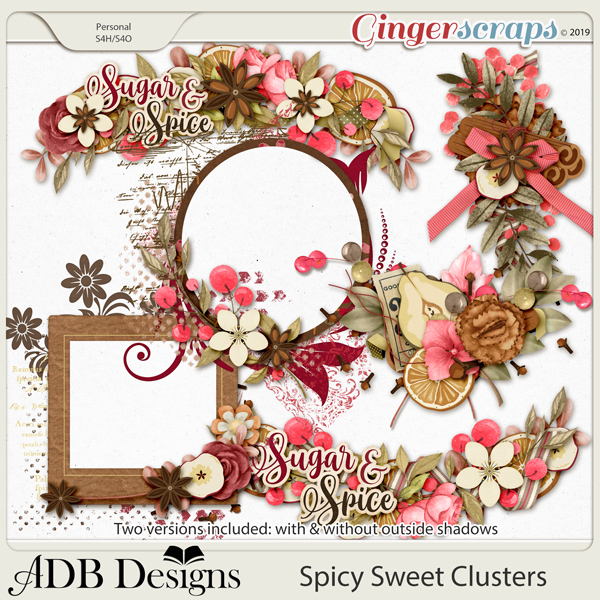 Spicy Sweet Clusters by ADB Designs