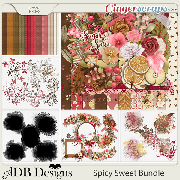 Spicy Sweet Bundle by ADB Designs
