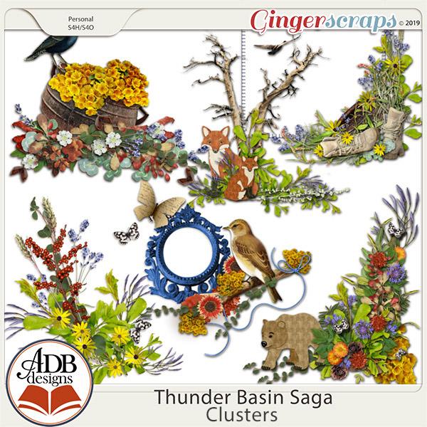 Thunder Basin Saga Clusters by ADB Designs