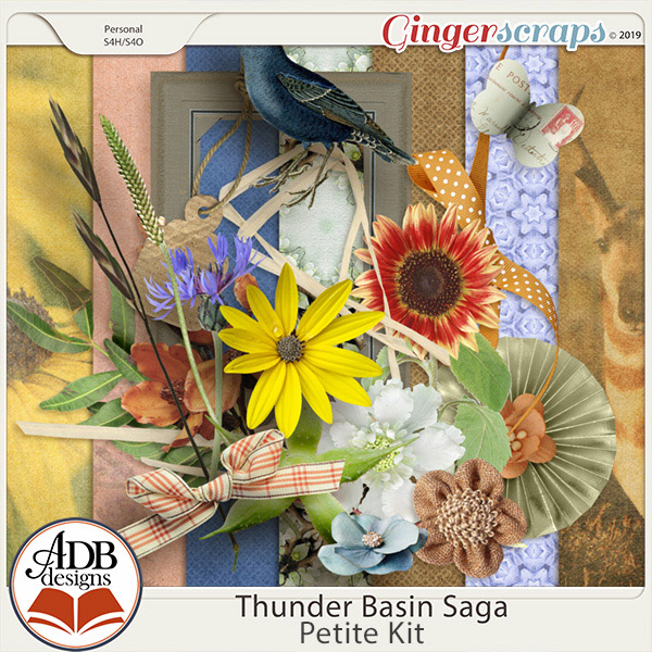 Thunder Basin Saga Petite Kit by ADB Designs